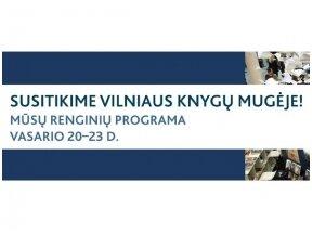 Susitikime Vilniaus knygų mugėje! Renginių programa