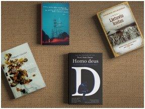 15min metų knygos rinkimai: skaitytojai išrinko savo mėgstamiausiųjų penketukus