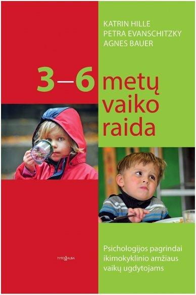 3–6 metų vaiko raida