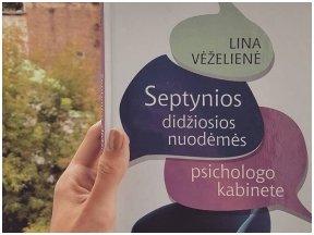 """Knygos apžvalga (Bookitook). Lina Vėželienė """"Septynios didžiosios nuodėmės psichologo kabinete"""" – gerai užpakalį spardanti knyga"""
