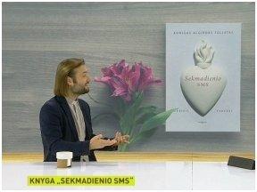 """Pokalbis su kunigu Algirdu Toliatu apie jo knygą """"Sekmadienio sms"""" LRT laidoje """"Labas rytas, Lietuva"""""""