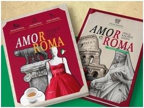 """Knygos apžvalga (Žinių radijas). Jurga, Paulius ir Simonas Jurkevičiai """"Amor Roma"""": išsamus ir spalvingas gidas po Amžinąjį miestą"""