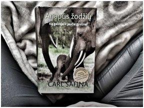 """Knygos apžvalga (Knygose). Carl Safina """"Anapus žodžių"""""""