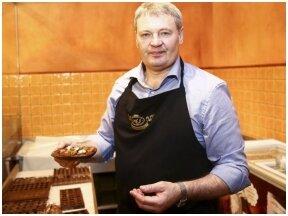 """""""AJ šokoladas"""" įkūrėjas A.Jablonskas – apie verslo pradžią, griūtį, sėkmę ir kodėl dabar nereikia panikuoti"""