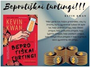 """Knygos apžvalga (Perskaitytų knygų dienoraštis). Kevin Kwan. """"Beprotiškai turtingi"""""""