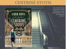 """Knygos apžvalga (Perskaitytų knygų dienoraštis). Fiona Davis """"Centrinė stotis"""""""