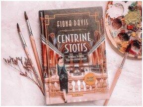 Knygos apžvalga (Greta Brigita). Fiona Davis. CENTRINĖ STOTIS