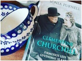 """Knygos apžvalga (Knygų puslapiuose). Sonia Purnell. """"Clementine Curchill"""""""