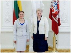 Knyga apie Prezidentę Dalią Grybauskaitę