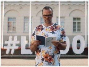 """""""Vilnius – literatūros erdvė"""": savo eiles skaito Dainius Dirgėla"""