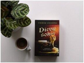 Knygos apžvalga (Perskaičiau). Vikram Chandra – Dievų šokis