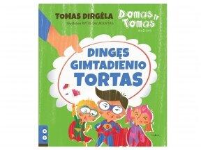 T.Dirgėlos personažai Domas ir Tomas kviečia į detektyvą pasinerti mažiausius