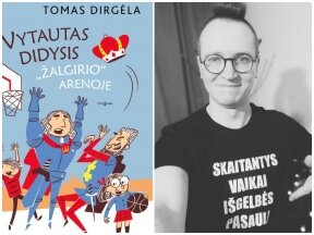 Rašytojas T. Dirgėla naujoje knygoje vaikus supažindina su Lietuvos istorija