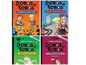 """""""Domo ir Tomo"""" anatomija. Teksto anatomija pagal Tomą Dirgėlą/ Iliustracijų anatomija pagal Rytį Daukantą"""