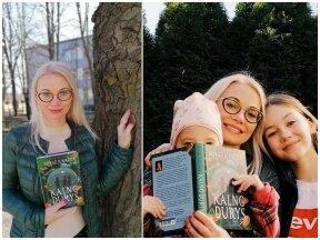 Rašytojai sukurti nuotykių romaną vaikams padėjo paauglė dukra