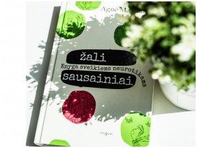 """Knygos apžvalga (valiuke.lt). Agnė Matulaitė """"Žali sausainiai: knyga sveikiems neurotikams"""""""