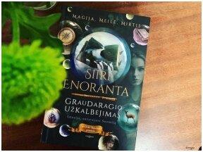 """Knygos apžvalga (Knygų puslapiuose). Siiri Enoranta. """"Graudaragio užkalbėjimas"""""""