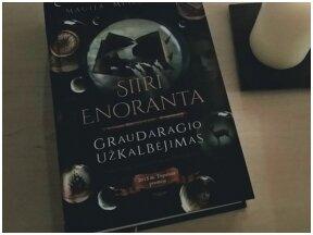 """Knygos apžvalga (Knygų princesės/s). Siiri Enoranta """"Graudaragio užkalbėjimas"""""""