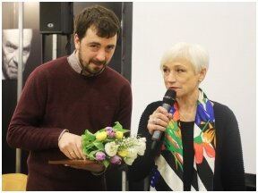 Poetui Mindaugui Nastaravičiui įteikta Jurgos Ivanauskaitės premija