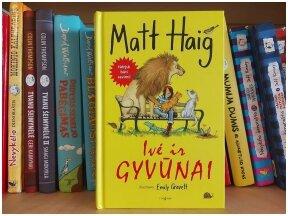 """Knygos apžvalga (Mama ir vaikas skaito). Matt Haig """"Ivė ir gyvūnai"""""""