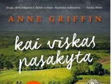 Knygos apžvalga (Mano knygų pasaulis). Anne Griffin. KAI VISKAS PASAKYTA