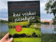 """Knygos apžvalga (Pelėdos skaitiniai). ANNE GRIFIN """"Kai viskas pasakyta"""""""