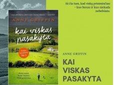 """Knygos apžvalga (Perskaitytų knygų dienoraštis).  Anne Griffin """"Kai viskas pasakyta"""""""
