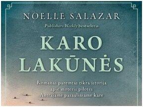 """""""Karo lakūnės"""" – romanas apie moteris, įžengusias į vyrų pasaulį"""