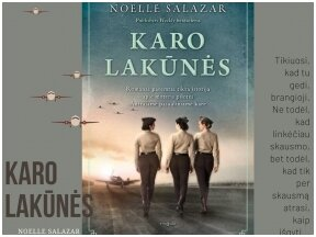 """Knygos apžvalga (Perskaitytų knygų dienoraštis). Noelle Salazar.  """"Karo lakūnės"""""""