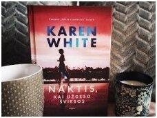 Knygos apžvalga (Greta Brigita). Karen White. NAKTIS, KAI UŽGESO ŠVIESOS