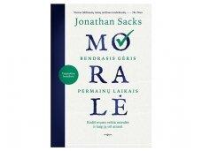 """Knygos apžvalga. Jonathan Sacks """"Moralė"""" (Jolanta Kryževičienė)"""