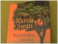 """Knygos apžvalga. Karen Swan  """"Ispaniška vasara"""""""