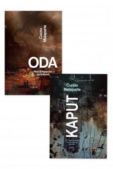 """KNYGŲ KOMPLEKTAS. """"Oda"""" + """"Kaput"""""""
