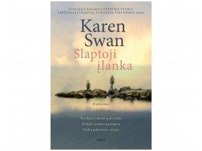 """Knygos apžvalga. Karen Swan """"Slaptoji įlanka"""" (Tyla audroje)"""