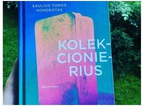 Knygos apžvalga (Mažvydas Jastramskis). Saulius Tomas Kondrotas. KOLEKCIONIERIUS