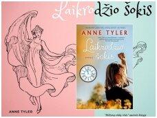 """Knygos apžvalga (Perskaiytų knygų dienoraštis). Anne Tyler """"Laikrodžio šokis"""""""