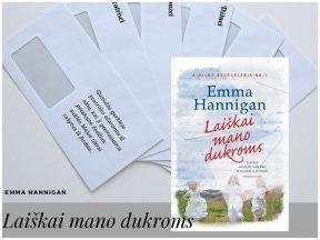 """Knygos apžvalga (Perskaitytų knygų dienoraštis). Emma Hannigan """"Laiškai mano dukroms"""""""