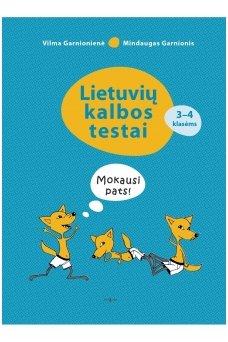 Lietuvių kalbos testai 3–4 klasėms