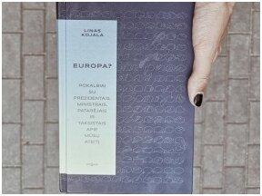 """Linas Kojala """"Europa"""" – viena geriausių skaitytų knygų negrožinės literatūros sąraše"""