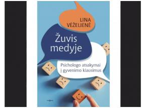 """Linos Vėželienės knygos """"Žuvis medyje"""" pristatymas"""