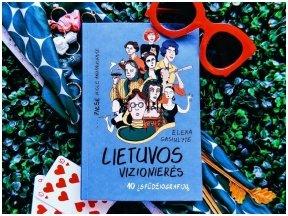Knygos apžvalga (book.duo). Elena Gasiulytė. Lietuvos vizionierės