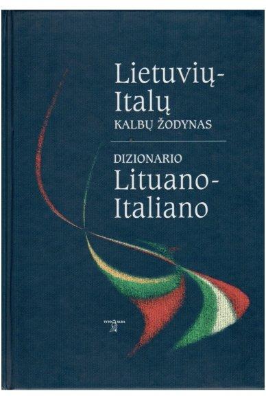 Lietuvių-italų kalbų žodynas (Knyga su defektu)
