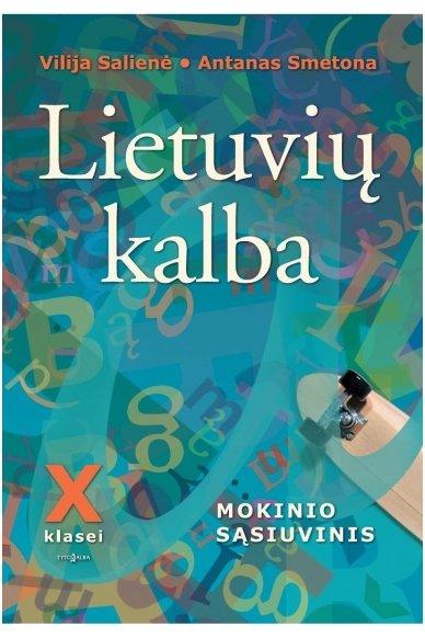 Lietuvių kalba 10 klasei
