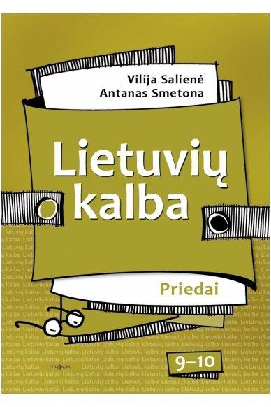 Lietuvių kalba 9–10 klasėms. Priedai