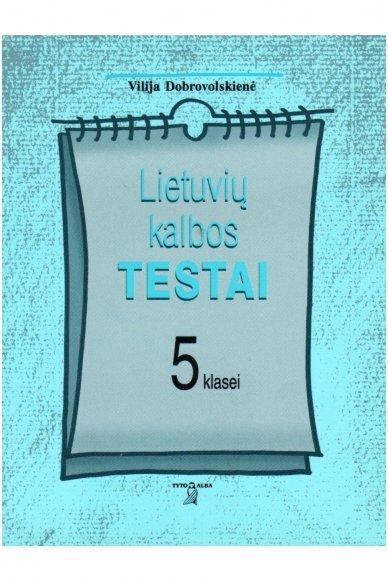 Lietuvių kalbos testai 5 klasei