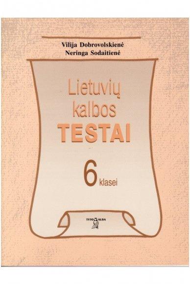 Lietuvių kalbos testai 6 klasei