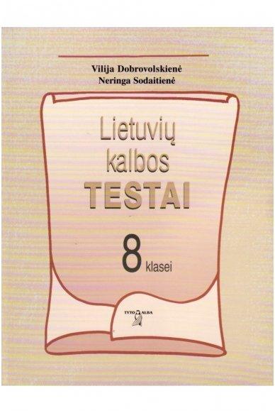 Lietuvių kalbos testai 8 klasei