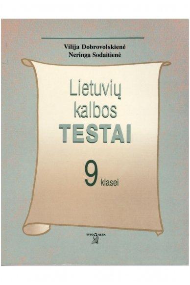 Lietuvių kalbos testai 9 klasei