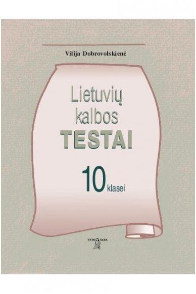 Lietuvių kalbos testai 10 klasei