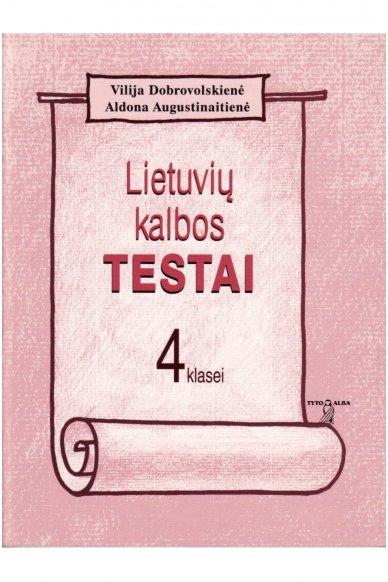 Lietuvių kalbos testai 4 klasei